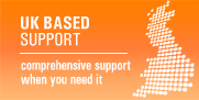 UK Based Support: Comprehensive support where you need it